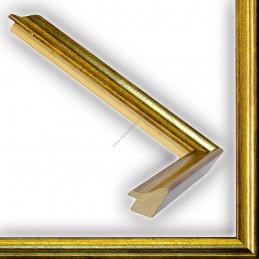 SCO145/92 23x23 - wąska classica złota rama do zdjęć i luster