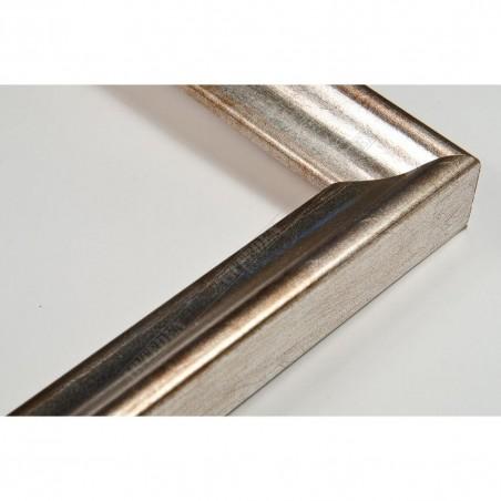 SCO145/93 23x23 - wąska classica srebrna rama do zdjęć i luster