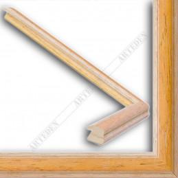 SCO186/17 22x15 - wąska orizzonti orzechowa rama do zdjęć i luster sample