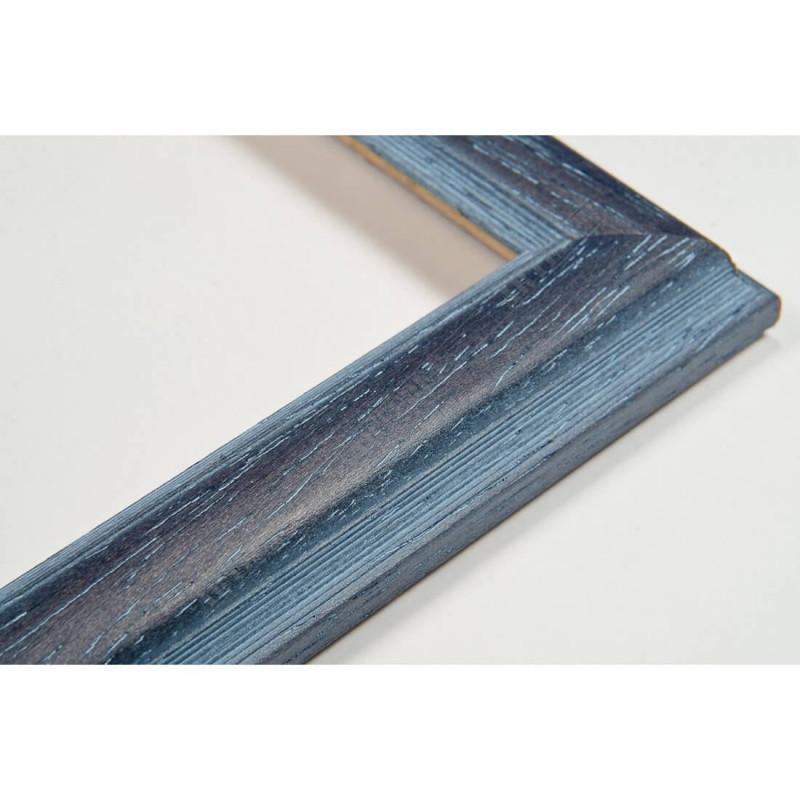 SCO186/21 22x15 - wąska orizzonti niebieska rama do zdjęć i luster