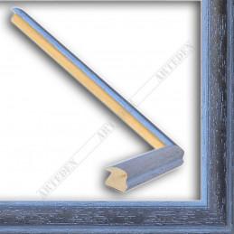 SCO186/21 22x15 - wąska orizzonti niebieska rama do zdjęć i luster sample