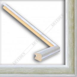 SCO186/29 22x15 - wąska orizzonti zielona rama do zdjęć i luster sample