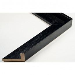 SCO191/172 35x26 - drewniana american box czarna rama do obrazów i luster