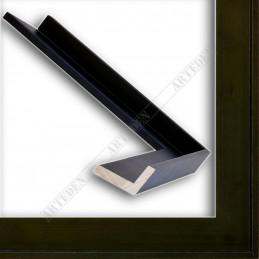 SCO191/172 35x26 - drewniana american box czarna rama do obrazów i luster sample