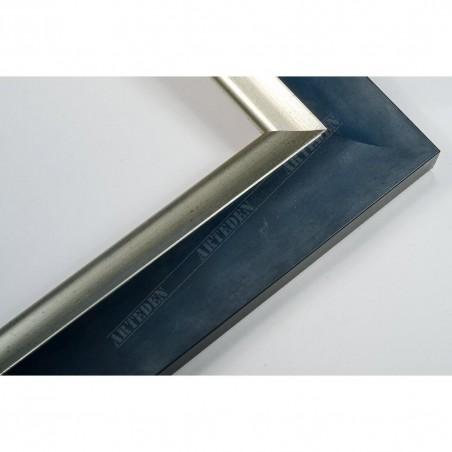 SCO2020/201 45x23 - pastelli niebieska rama do obrazów i luster
