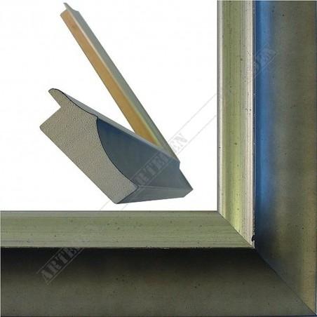 SCO2020/205 45x23 - pastelli szara rama do obrazów i luster