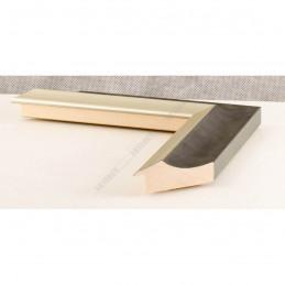 SCO2020/208 45x23 - drewniana pastelli grafitowa-srebrna rama do obrazów i luster sample1
