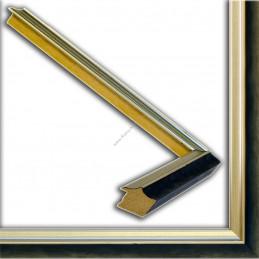SCO2021/201 26x20 - wąska pastelli niebieska-srebrna rama do zdjęć i luster sample2