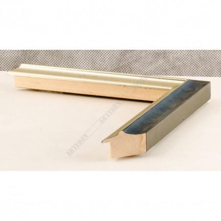 SCO2021/201 26x20 - wąska pastelli niebieska-srebrna rama do zdjęć i luster sample1