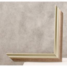SCO2021/205 26x20 - wąska pastelli szara-srebrna rama do zdjęć i luster sample