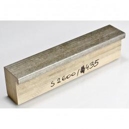 SCO2600/435 40x50 - drewniana stare srebro blejtram rama do obrazów i luster sample