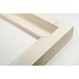 SCO302/71 50x35 - drewniana cotton club biała rama do obrazów i luster