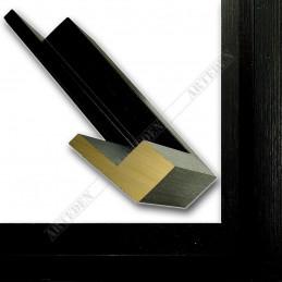 SCO302/72 50x35 - drewniana cotton club czarna rama do obrazów i luster sample1