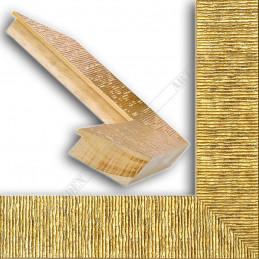 SCO314/21 70x35 - drewniana hawana złota rama do obrazów i luster sample
