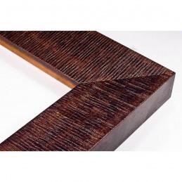 SCO314/23 70x35 - drewniana hawana wenge rama do obrazów i luster