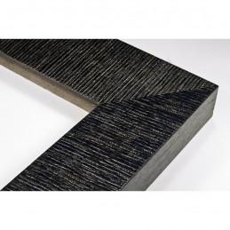 SCO314/28 70x35 - drewniana hawana czarna rama do obrazów i luster