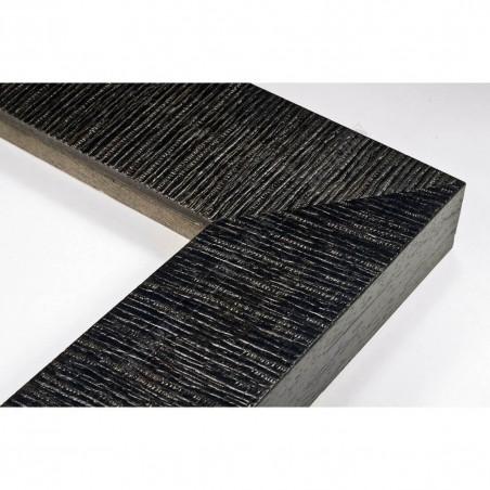 SCO314/28 70x35 - drewniana hawana czarna rama do obrazów
