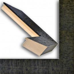 SCO314/28 70x35 - drewniana hawana czarna rama do obrazów i luster sample