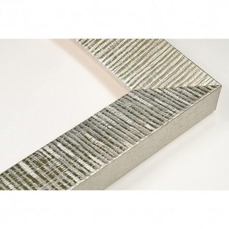 SCO315/22 39x23 - drewniana hawana srebrna rama do obrazów
