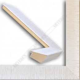 SCO315/30 39x23 - drewniana hawana biała rama do obrazów i luster sample