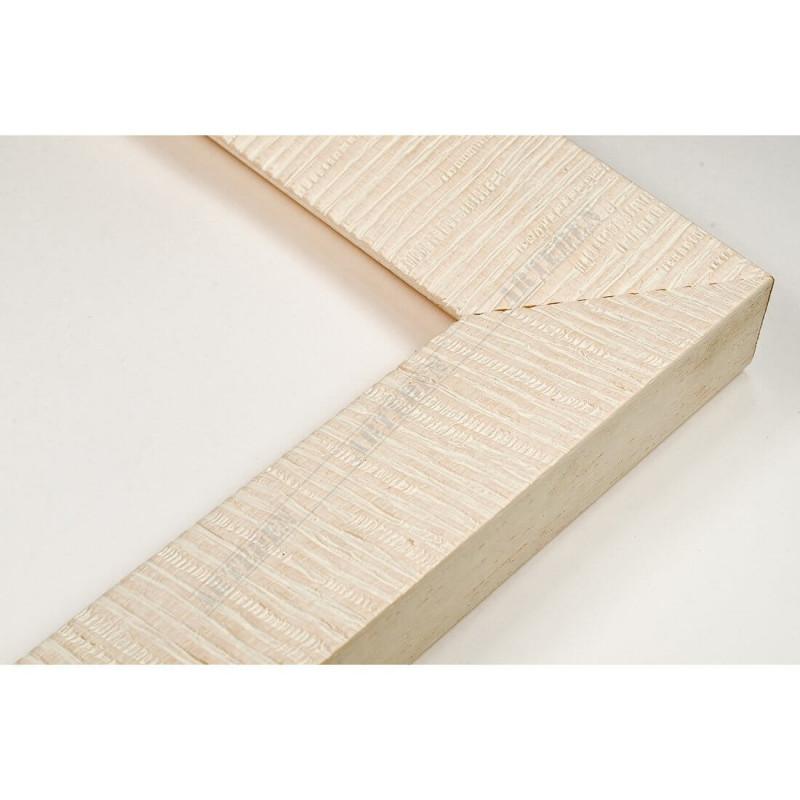 SCO315/30 39x23 - drewniana hawana biała rama do obrazów i luster