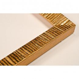 SCO316/21 20x15 - mała hawana złota ramka do zdjęć i obrazków