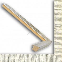 SCO316/22 20x15 - mała hawana srebrna ramka do zdjęć i obrazków sample