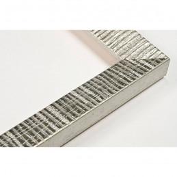 SCO316/22 20x15 - mała hawana srebrna ramka do zdjęć i obrazków