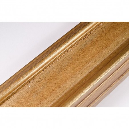 SCO325/70 70x43 - drewniana złota rama do obrazów i luster