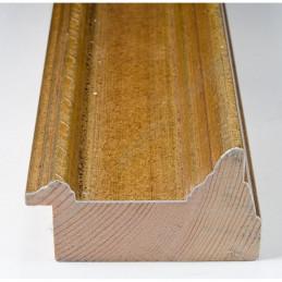 SCO325/70 70x43 - drewniana złota rama do obrazów i luster sample