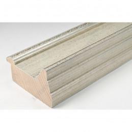 SCO325/71 70x43 - drewniana srebrna rama do obrazów i luster sample1