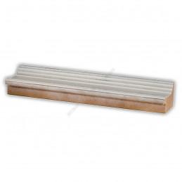 SCO326/75 50x30 - drewniana biała rama do obrazów i luster sample1