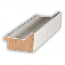 SCO326/75 50x30 - drewniana biała rama do obrazów i luster sample