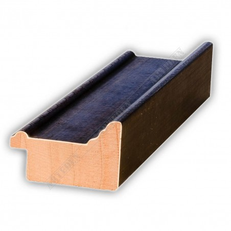 SCO326/76 50x30 - drewniana brązowa rama do obrazów i luster