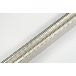 SCO327/71 20x20 - mała srebrna ramka do zdjęć i obrazków