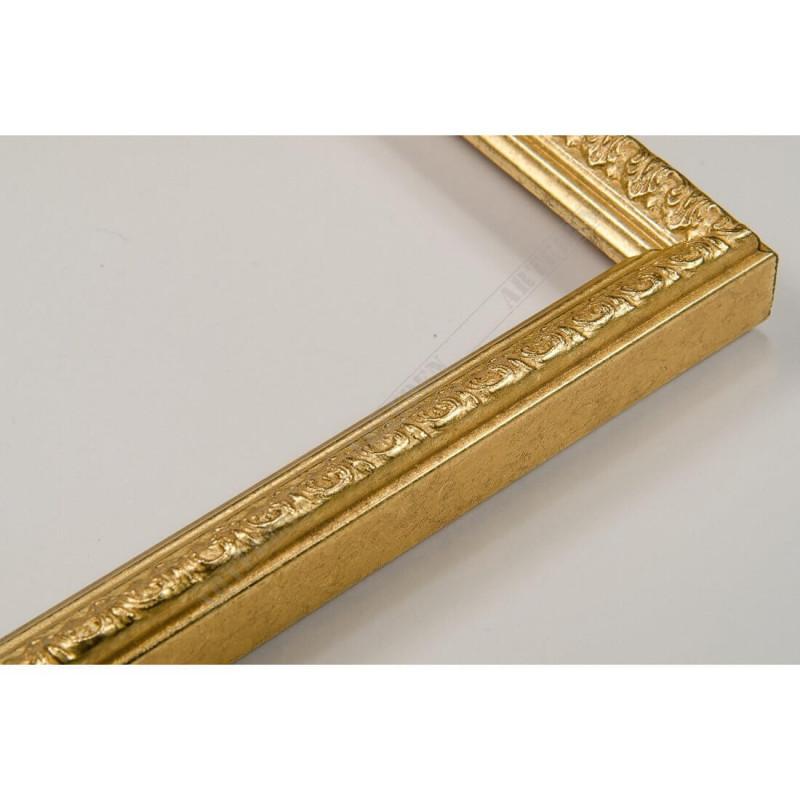 SCO513/55 16x20 - mała złota ramka do zdjęć i obrazków