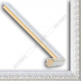 SCO513/56 16x20 - mała srebrna ramka do zdjęć i obrazków sample