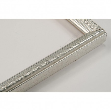 SCO513/56 16x20 - mała srebrna ramka do zdjęć i obrazków