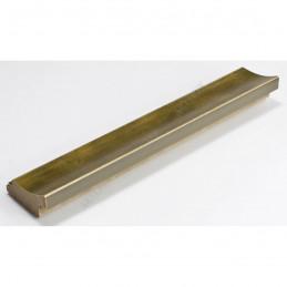 SCO553/905 45x22 - drewniana przecierane złoto rama do obrazów i luster sample