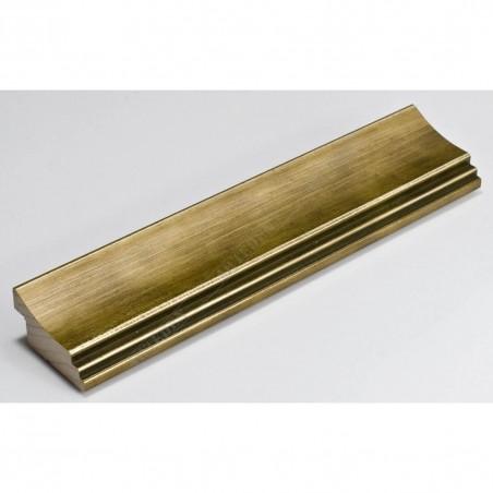 SCO553/905 45x22 - złota przecierana rama do obrazów i luster