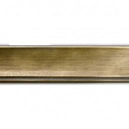SCO553/905 45x22 - drewniana przecierane złoto rama do obrazów i luster sample1