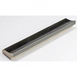 SCO553/906 45x22 - drewniana przecierany antracyt rama do obrazów i luster sample