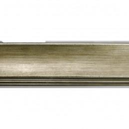 SCO553/907 45x22 - drewniana przecierane ciepłe srebro rama do obrazów i luster sample1