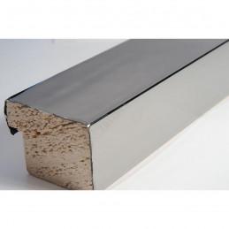 SCO6006/47 40x30 - drewniana ciemne srebro wysoki połysk rama do obrazów i luster sample1