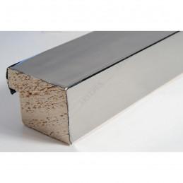 SCO6006/47 40x30 - drewniana ciemne srebro wysoki połysk rama do obrazów i luster sample