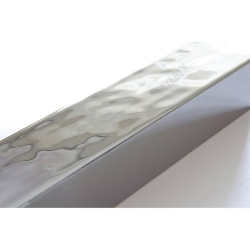 SCO6006/47 40x30 - drewniana ciemne srebro wysoki połysk rama do obrazów i luster