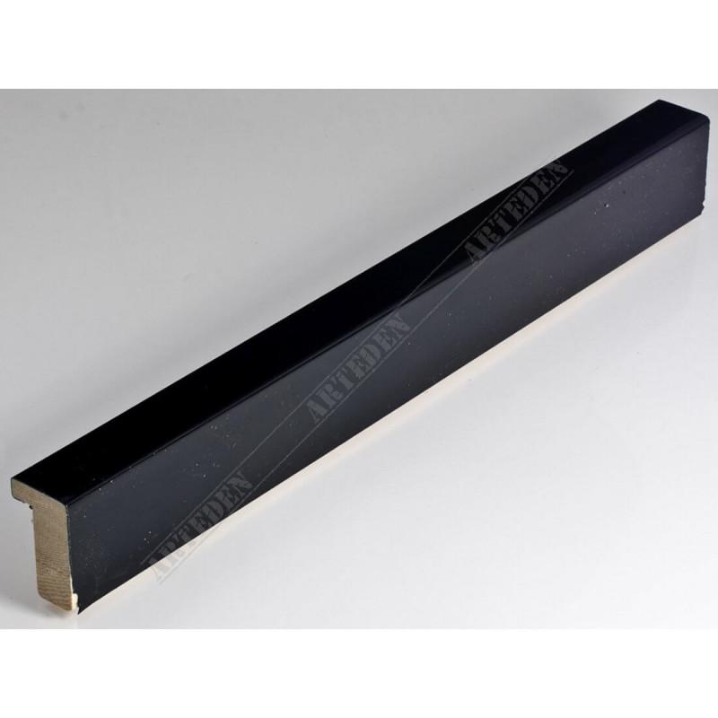 SCO6007/48 20x35 - mała czarna lakier ramka do zdjęć i obrazków