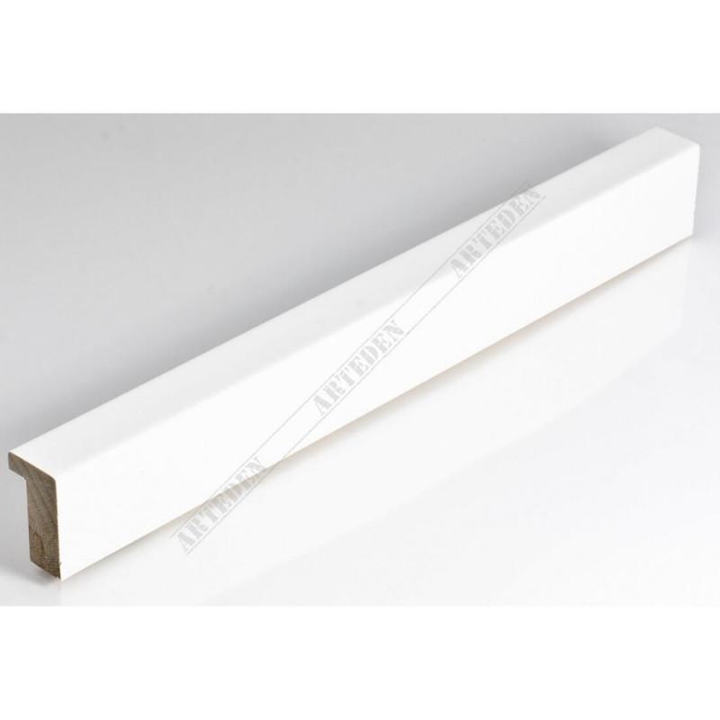 SCO6007/49 20x35 - mała biała lakier ramka do zdjęć i obrazków