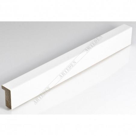 SCO6007/49 20x35 - biała laminowana rama do zdjęć i obrazów