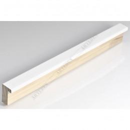 SCO6007/49 20x35 - mała biała lakier ramka do zdjęć i obrazków sample